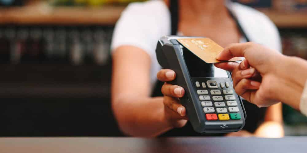 Card payment equipment